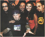 with Fred Durst